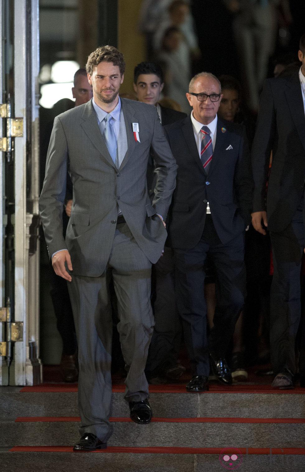 Pau Gasol en la gala inaugural del 125 congreso del COI en Buenos Aires
