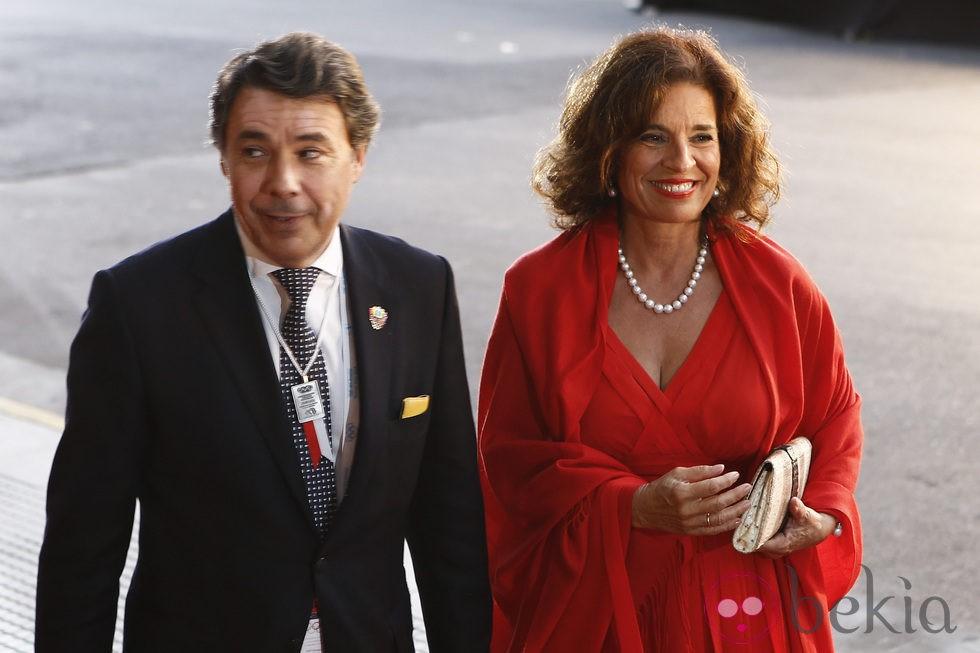 Ignacio González y Ana Botella en la gala inaugural del 125 congreso del COI en Buenos Aires