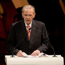 Jacques Rogge en la gala inaugural del 125 congreso del COI en Buenos Aires