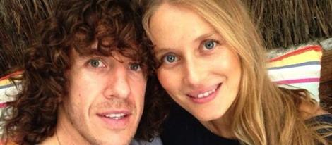 Carles Puyol y Vanesa Lorenzo anuncian que esperan su primer hijo