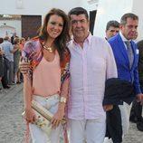María Jesús Ruiz y José María Gil Silgado en la Corrida Goyesca 2013