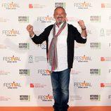 Karlos Arguiñano en la clausura del FesTVal de Vitoria 2013