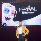 Luis Larrodera en la clausura del FesTVal de Vitoria 2013