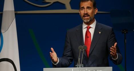 El Príncipe Felipe en la presentación final de Madrid 2020 ante el COI