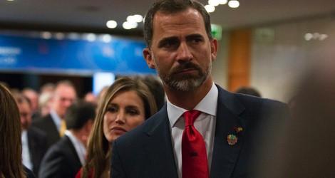 Los Príncipes Felipe y Letizia, tristes tras la derrota de Madrid 2020