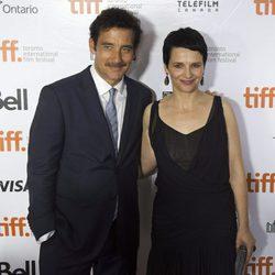 Clive Owen y Juliette Binoche en el estreno de 'Words and Pictures' en el Festival Internacional de Cine de Toronto 2013