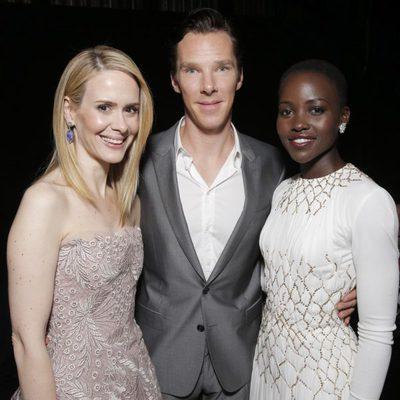 Sarah Paulson, Benedict Cumberbatch y Lupita Nyong'o en el estreno de '12 años de esclavitud' en el Festival Internacional de Cine de Toronto 2013