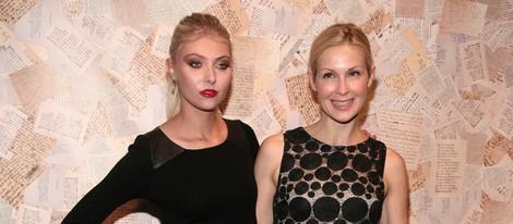 Taylor Momsen y Kelly Rutherford en el front row de Alice & Olivia primavera/verano 2014 en la Semana de la Moda de Nueva York