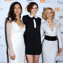 Moran Atias, Loan Chabanol y Maria Bello en el estreno de 'The Third Person' en el Festival Internacional de Cine de Toronto 2013