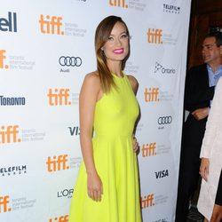 Olivia Wilde en el estreno de 'The Third Person' en el Festival Internacional de Cine de Toronto 2013