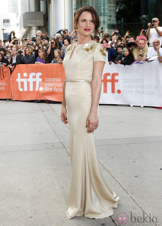 Juliette Lewis en el estreno de 'Agosto' en el Festival Internacional de Cine de Toronto 2013