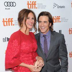 Julia Roberts y Dermot Mulroney en el estreno de 'Agosto' en el Festival Internacional de Cine de Toronto 2013