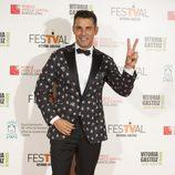 Jesús Vázquez en la gala de clausura del FesTVal de Vitoria 2013