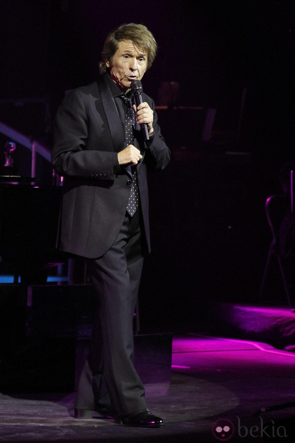 Raphael en un concierto en Madrid dentro de su tour 'Mi gran noche'