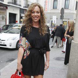 Raquel Martos en el concierto de 'Mi gran noche' de Raphael en Madrid