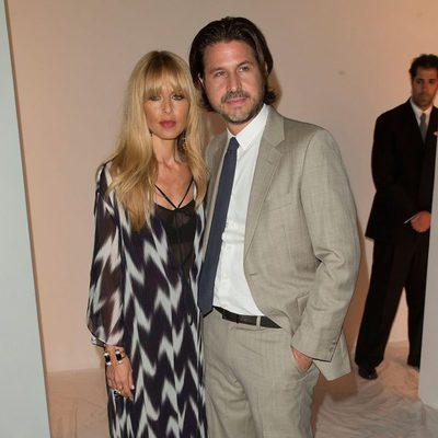 Rachel Zoe con su marido Rodger Berman en su desfile primavera/verano 2014 de la Semana de la Moda de Nueva York