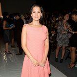 Hilaria Thomas en el desfile de Rachel Zoe primavera/verano 2014 de la Semana de la Moda de Nueva York