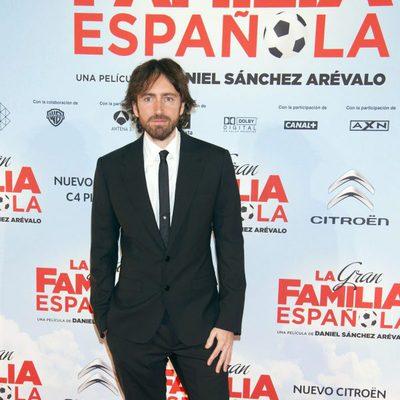Daniel Sánchez Arévalo en el estreno de 'La gran familia española' en Madrid