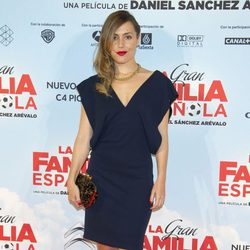 Irene Montalà en el estreno de 'La Gran Familia Española'
