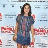 Nadia de Santiago en el estreno de 'La Gran Familia Española'