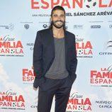 Álex García en el estreno de 'La Gran Familia Española'