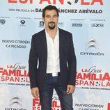 Antonio Velázquez en el estreno de 'La Gran Familia Española'