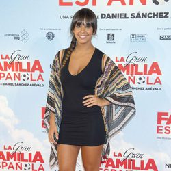 Cristina Pedroche en el estreno de 'La Gran Familia Española'