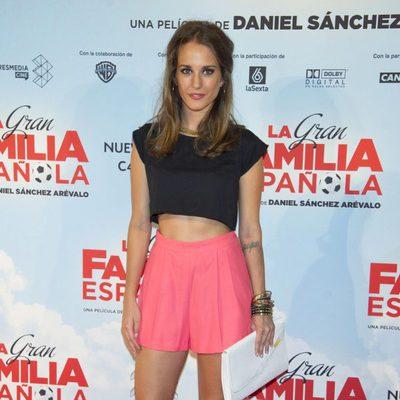 Silvia Alonso en el estreno de 'La Gran Familia Española'