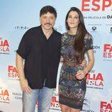 Carlos Bardem y Cecilia Gessa en el estreno de 'La Gran Familia Española'