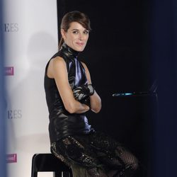 Raquel Sánchez Silva, presentadora de la Vogue Fashion's Night Out 2013