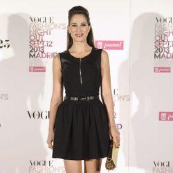 Celia Freijeiro en la Vogue Fashion's Night Out 2013
