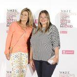 Cari Lapique y Caritina Goyanes en la Vogue Fashion's Night Out 2013