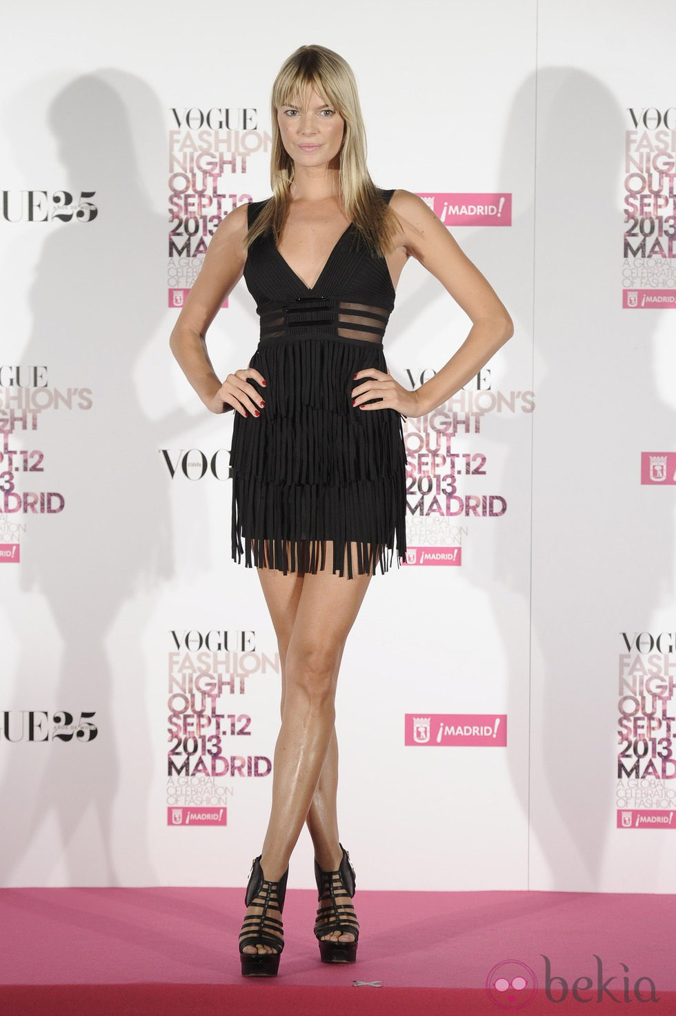 Cristina Tosio en la Vogue Fashion's Night Out 2013