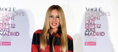 Berta Collado en la Vogue Fashion's Night Out 2013