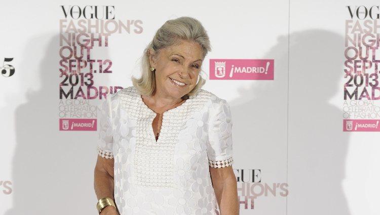 Beatriz de Orleans en la Vogue Fashion's Night Out 2013