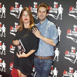 Pepa Charro y Julián López en el estreno de 'Hoy no me puedo levantar'