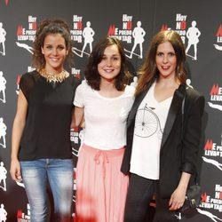 Sandra Blázquez y Nadia de Santiago en el estreno de 'Hoy no me puedo levantar'