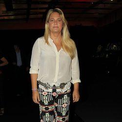 Isabel Sartorius en el desfile de Roberto Torretta primavera/verano 2014 en Madrid Fashion Week