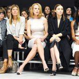 Anna Wintour, Nicole Kidman y Rooney Mara en el desfile primavera/verano 2014 de Calvin Klein en la Semana de la Moda de Nueva York