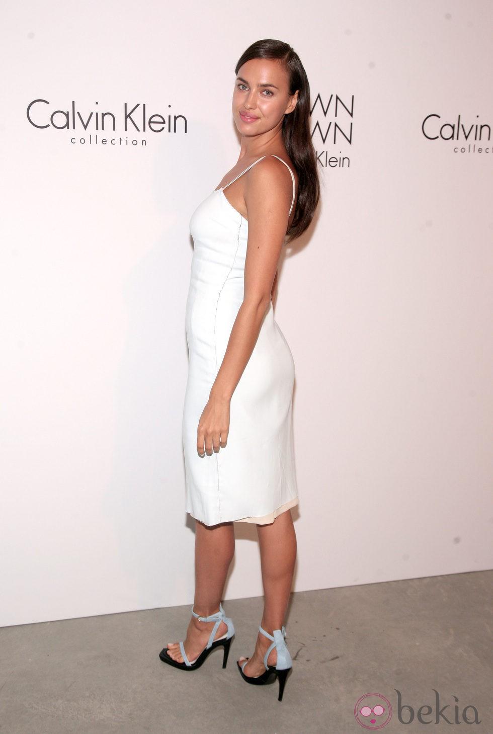 Irina Shayk en la fiesta Calvin Klein tras su desfile primavera/verano 2014 de la Semana de la Moda de Nueva York