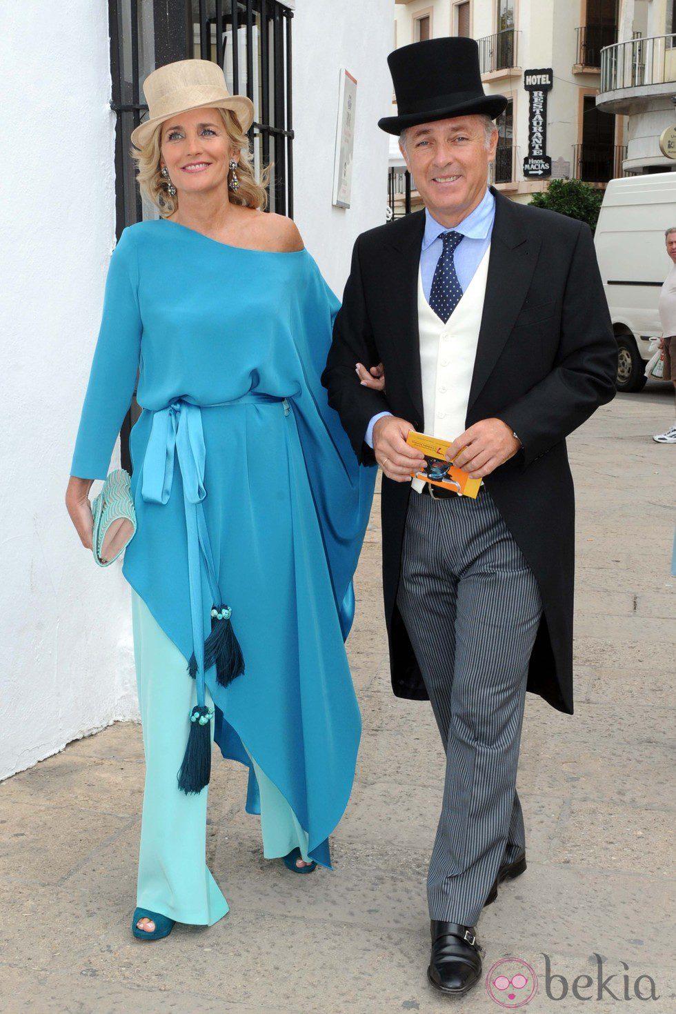 José Manuel Soto en la boda de Fran Rivera y Lourdes Montes en Ronda