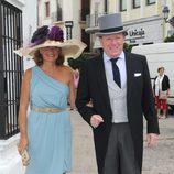 César Cadaval en la boda de Fran Rivera y Lourdes Montes en Ronda