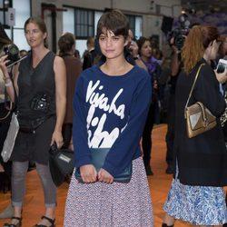 Pixie Geldof en la London Fashion Week 2013