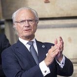 El Rey Carlos Gustavo de Suecia en la celebración de su Jubileo
