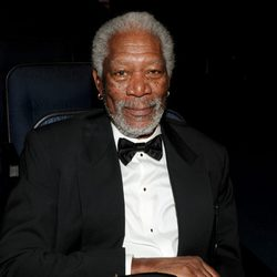 Morgan Freeman en los Emmy Creativos 2013