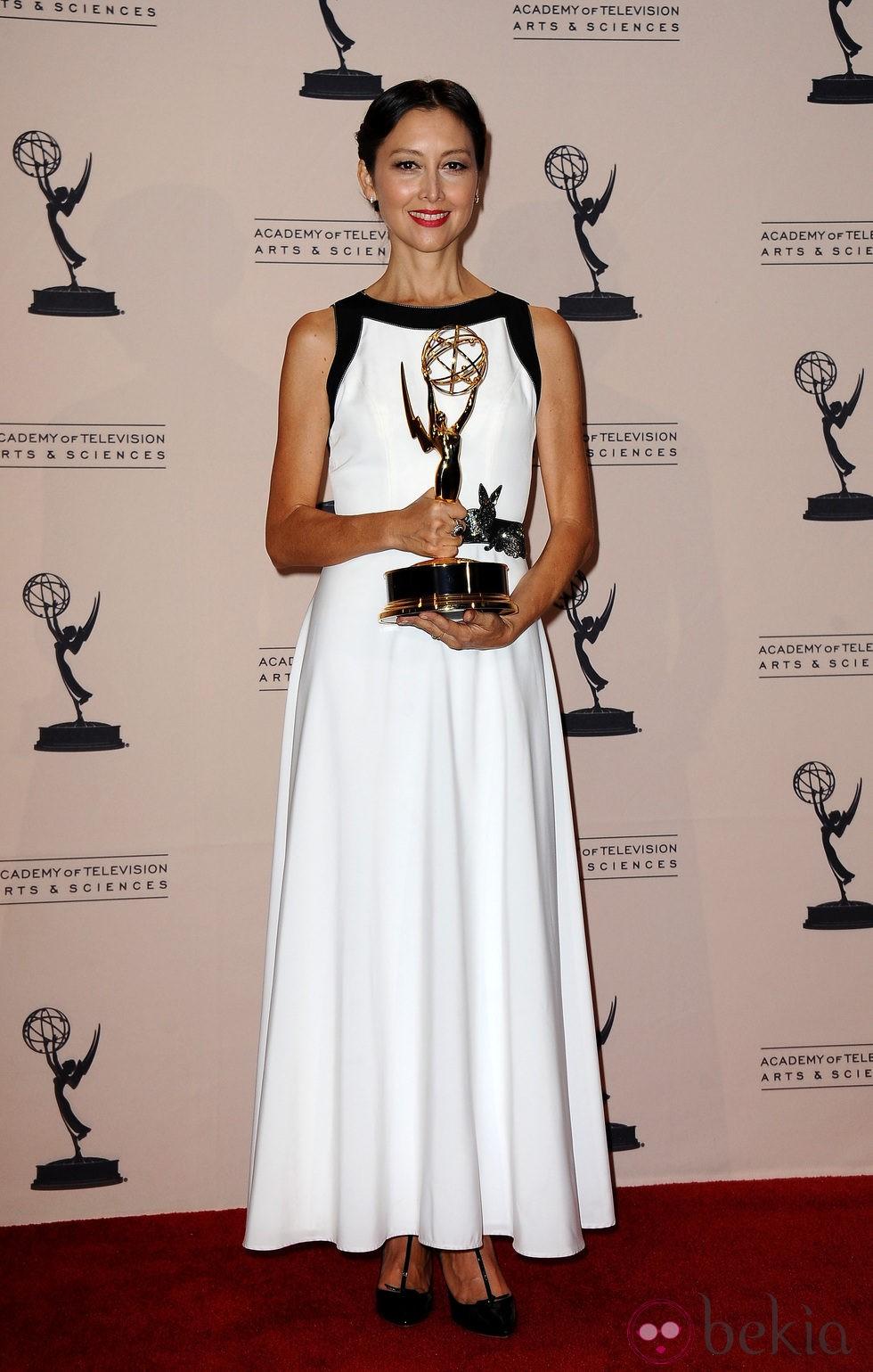 Carmen Cuba en los Emmy Creativos 2013