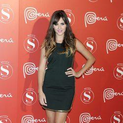 Lucía Ramos en la fiesta Perú Moda de Madrid Fashion Week
