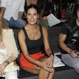 Verónica Hidalgo en el desfile primavera/verano 2014 de Dolores Cortés en Madrid Fashion Week