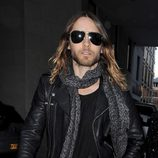 Jared Leto en el desfile primavera/verano 2014 de Giles en London Fashion Week