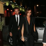 David y Victoria Beckham en la fiesta organizada por la revista AnOther en Londres